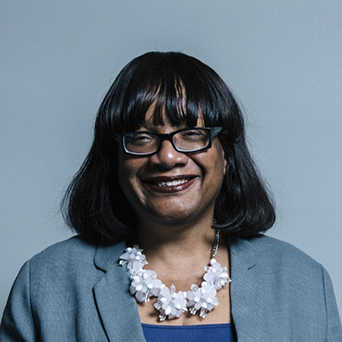 Photo of Diane Abbott MP